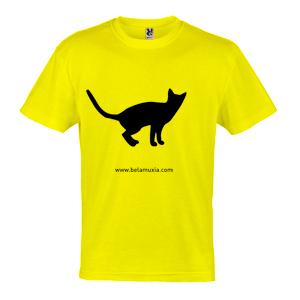 Bela Muxía, Camiseta amarilla.