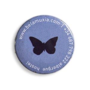 Bela Muxía, Chapa mariposa