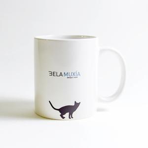 Bela Muxía, Taza gato.